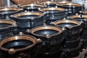 ДРК для полиэтиленовых труб на складе Вентсталь-МСК