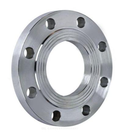 Фланец сталь 09Г2С плоский Ду 50 Ру10 тип 01 ряд 1 исп. B ГОСТ 33259-2015