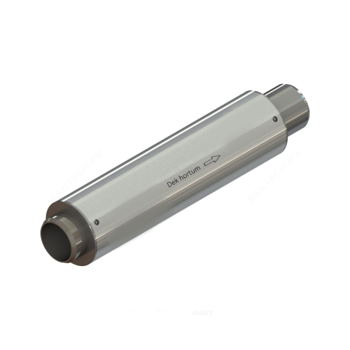 Компенсатор сильфонный осевой многослойный сталь нерж КСО Ду 200 Ру16 под приварку патрубки сталь L=475мм Hortum 200-16-100 сжатие/растяжение 50/50