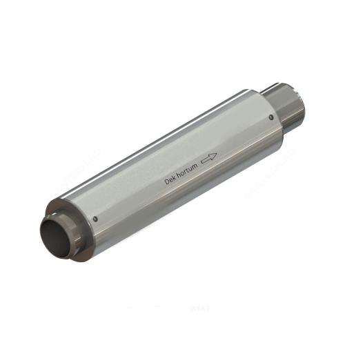 Компенсатор сильфонный осевой многослойный сталь нерж КСО Ду 200 Ру16 под приварку патрубки сталь L=400мм Hortum 200-16-100 (0030200-100)