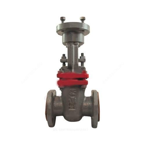 Задвижка клиновая сталь 30с964нж Ду 700 Ру25 фл под эл/привод присоединение по ОСТ «Д» МЗТА