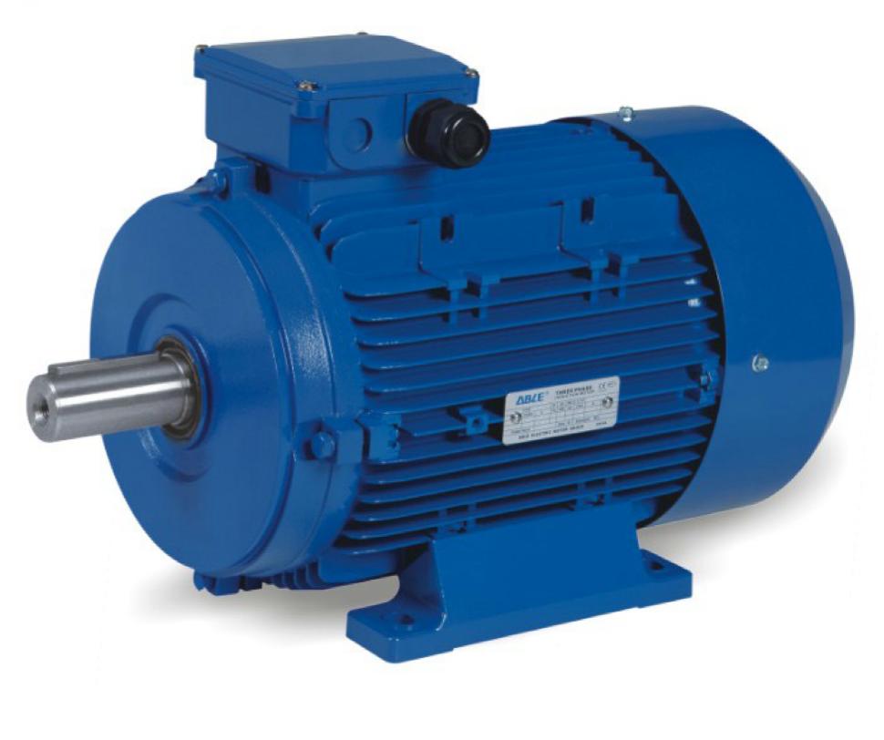 электродвигатель ABLE MS5612 0,09 кВт вид сбоку