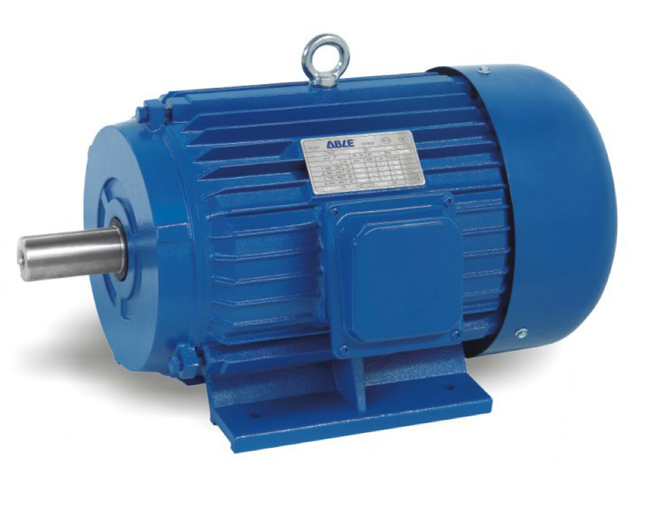 электродвигатель ABLE Y-802-2 1,1 кВт вид сбоку