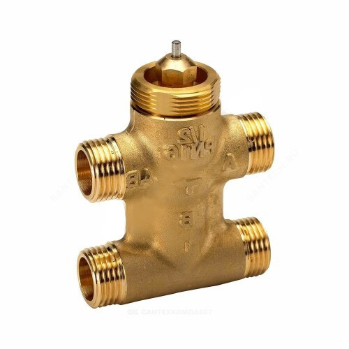 Клапан регулирующий латунь VZL4 Ду 15 Ру16 НР G1/2 Kvs=0.63м3/ч Danfoss 065Z2092