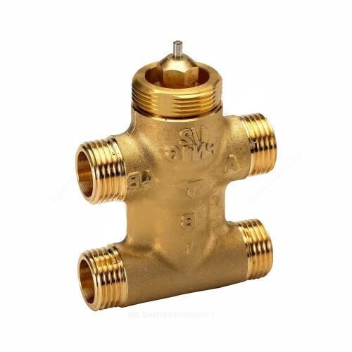Клапан регулирующий латунь VZL4 Ду 15 Ру16 НР G1/2 Kvs=0.25м3/ч Danfoss 065Z2090