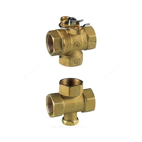 Клапан регулирующий латунь R279 с отсечным клапаном Ду 25 ВР G1 Giacomini R279Y005