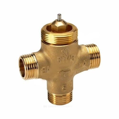 Клапан регулирующий латунь VZL3 Ду 15 Ру16 НР G1/2 Kvs=0.63м3/ч Danfoss 065Z2082