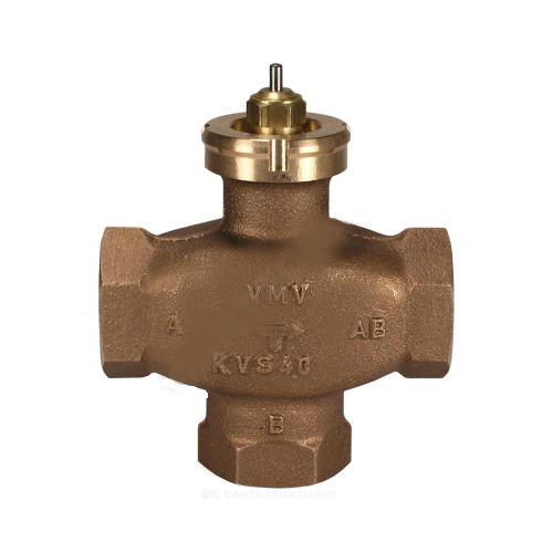 Клапан регулирующий бронза VMV Ду 32 Ру16 НР G1 1/2 Kvs=10м3/ч Danfoss 065F6032