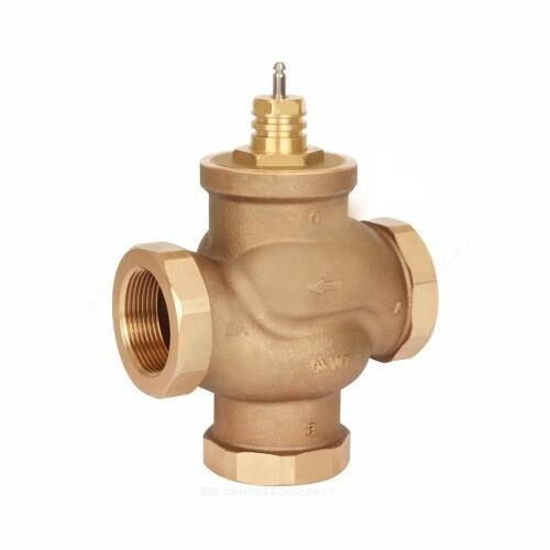 Клапан регулирующий бронза VRB3 Ду 15 Ру16 ВР Rp1/2 Kvs=1.6м3/ч Danfoss 065Z0213
