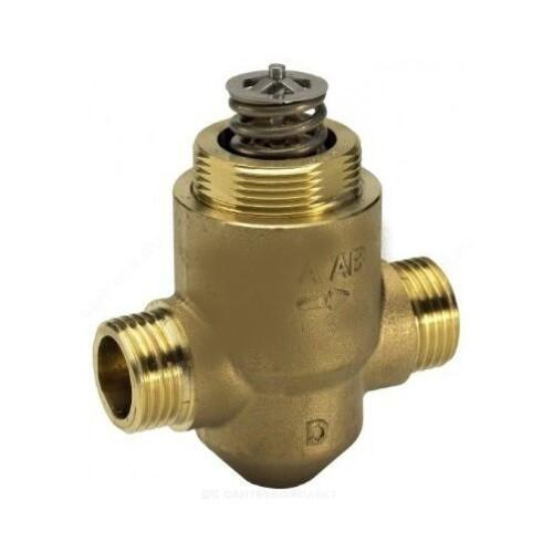Клапан регулирующий латунь VZ2 Ду 15 Ру16 НР G1/2 Kvs=1.6м3/ч Danfoss 065Z5314