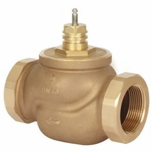 Клапан регулирующий бронза VRB2 Ду 20 Ру16 ВР Rp3/4 Kvs=6.3м3/ч без привода Danfoss 065Z0236