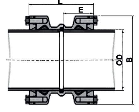 ДРК 50/63 габаритные размеры
