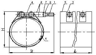 муфта свертная 100 108-118 300 ммгабариты